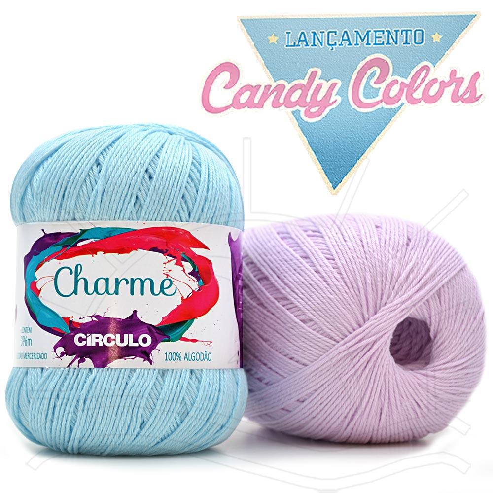 Linha Charme Círculo - Candy Colors