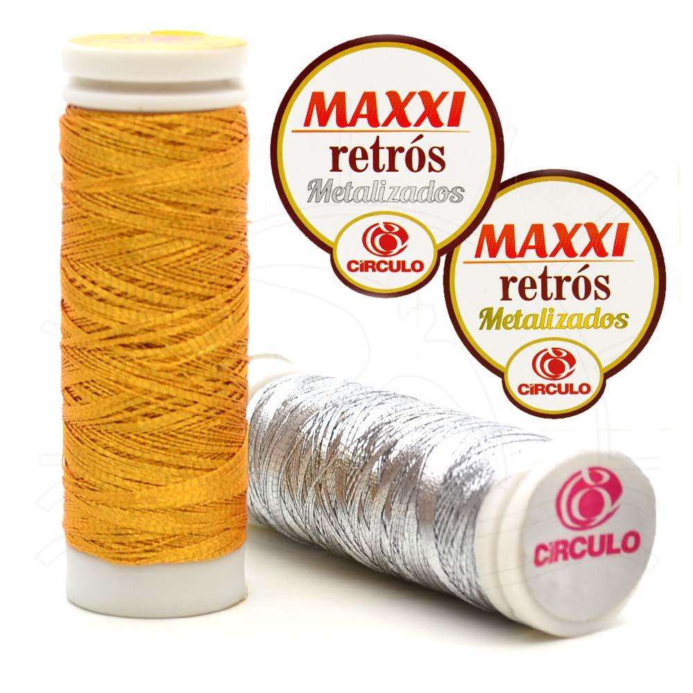 Linha Maxxi Retrós Metalizada 91,4m