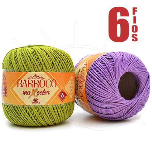 Barbante Barroco MaxColor nº06 200g