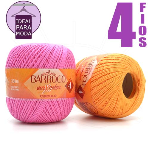 Barbante Barroco MaxColor Moda nº04 200g