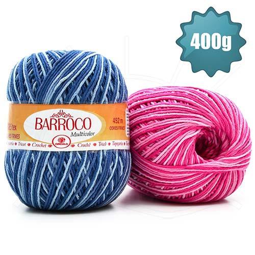 Barbante Barroco Multicolor 400g