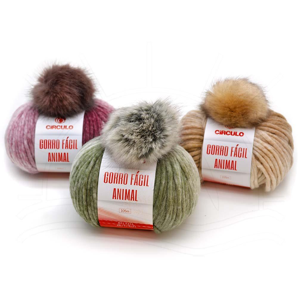 bb0c026e88da3 Gorro em Crochê e tricô - Fios de inverno – Tricochetando