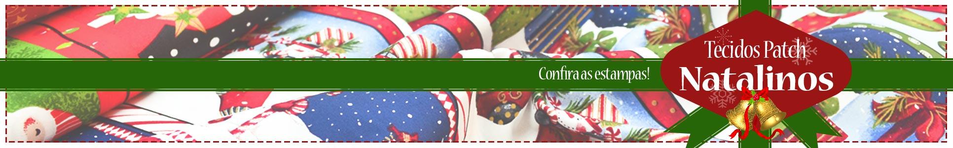 Tecidos Patch de Natal