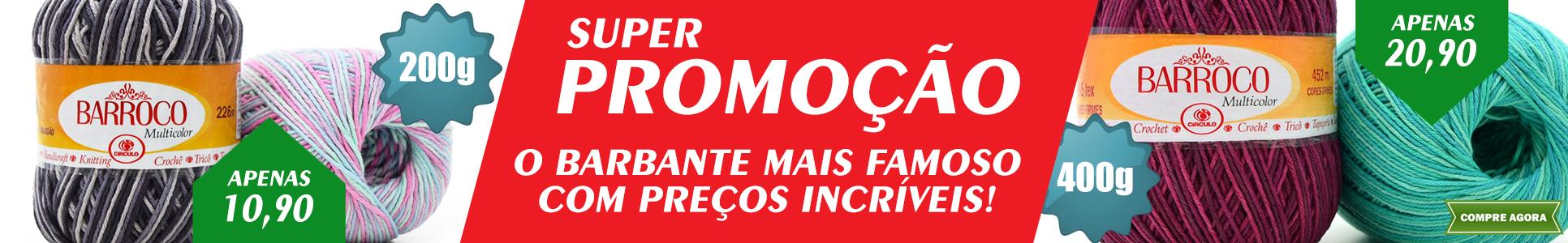 Promoção Barbante Barroco
