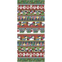 Tecido Estampado para Patchwork - Natal Happy Day cor 1850 (0,60x1,40)