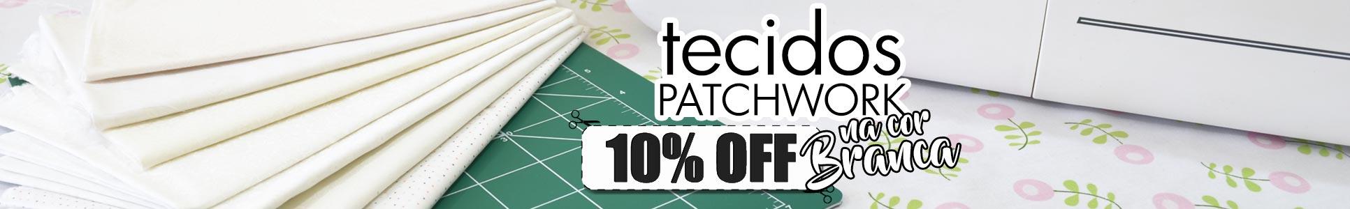 Tecidos Brancos 10% OFF