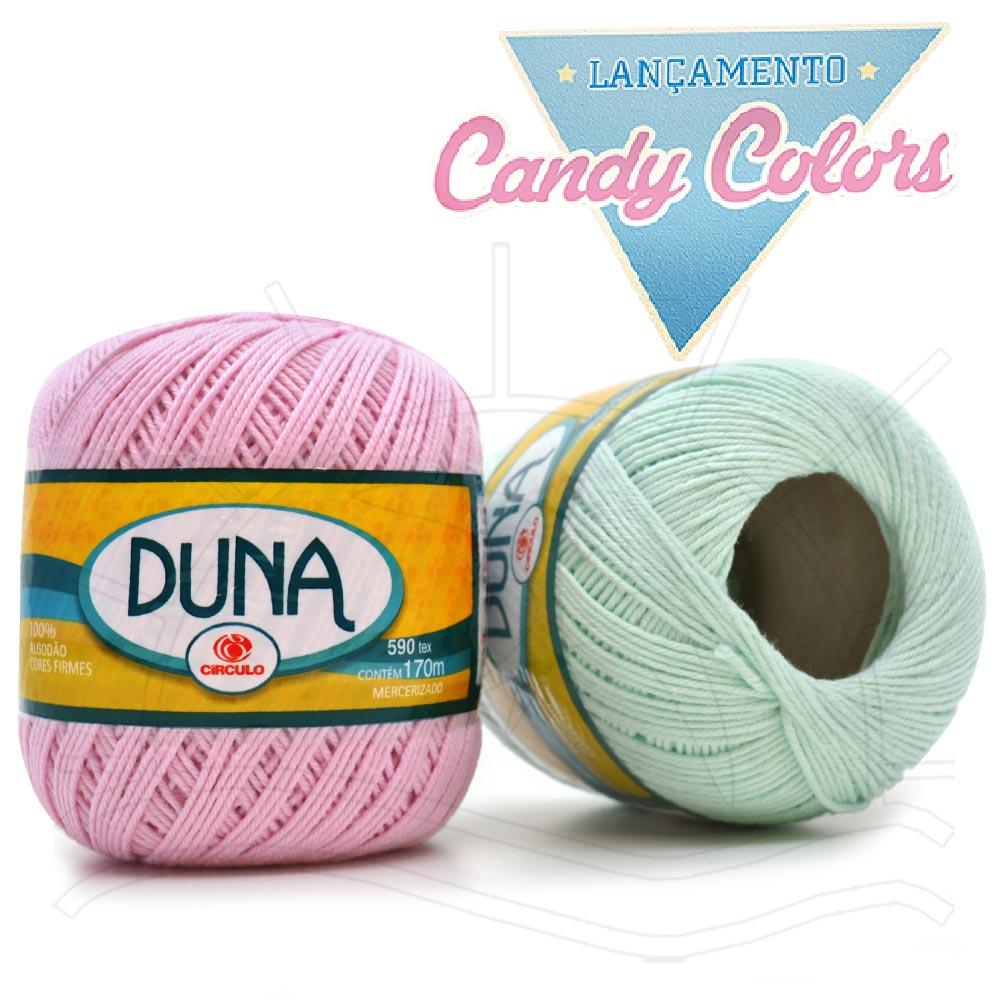 Linha Duna Candy Colors Círculo 100g