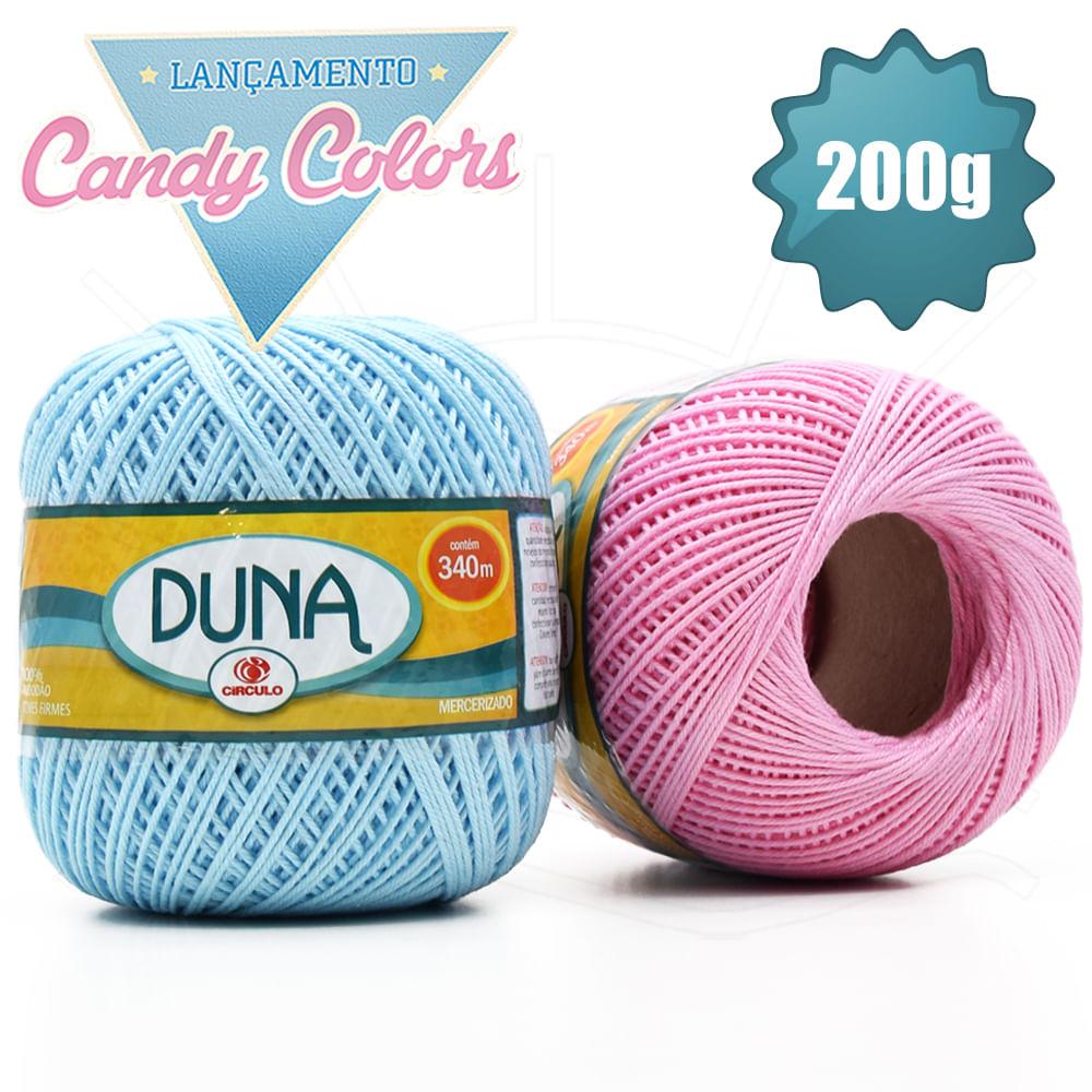 Linha Duna Candy Colors Círculo 200g