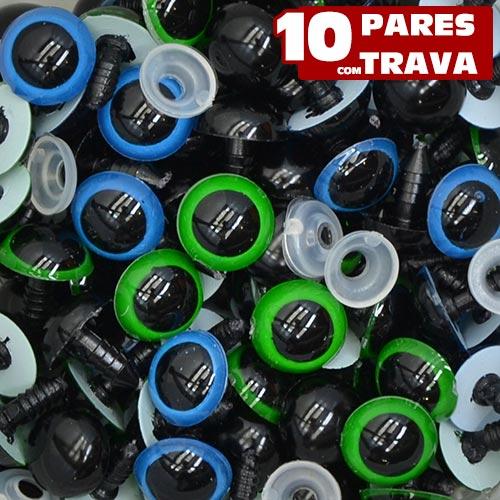 100 Olhos Nº 13 Pino Trava De Segurança Amigurumi Artesanato - R ... | 500x500