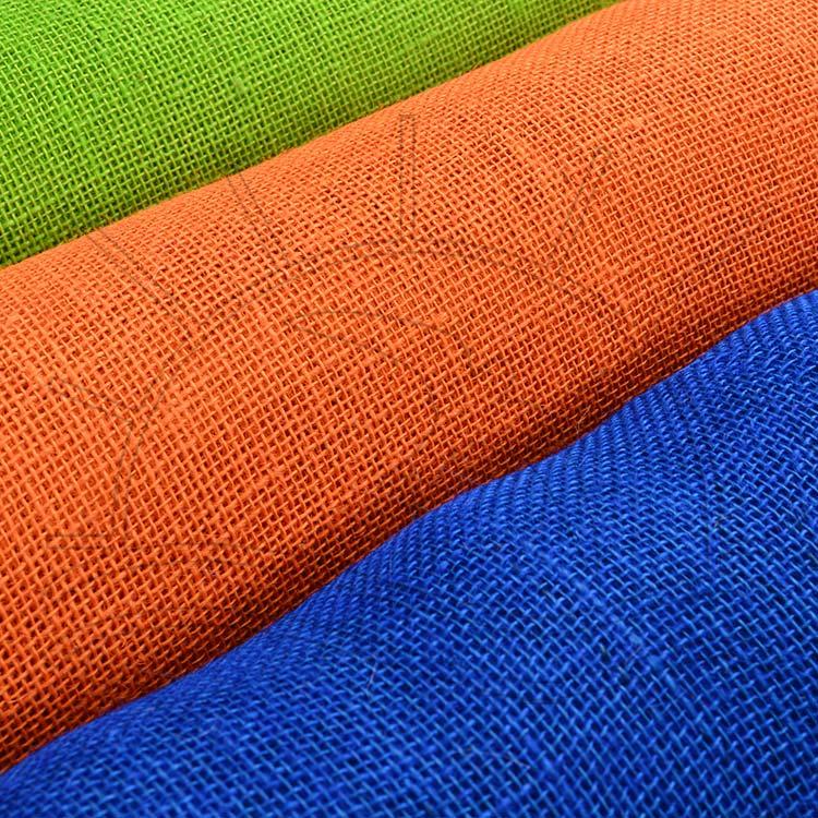 fb781337cc Tecido Juta Colorida em 8 Lindas Cores - Tricochetando