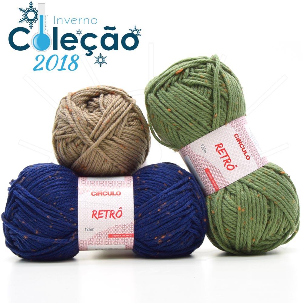 Crochê e tricô -  saldão  Círculo – Bazar Horizonte c94dbb47190