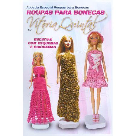 apostila especial roupas para bonecas por vitoria quintal bazar