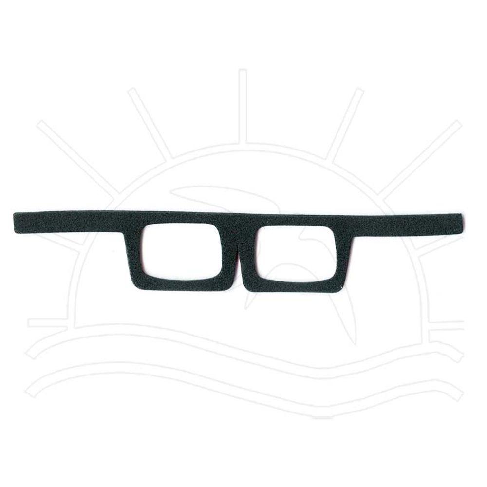 Óculos Quadrado - Preto - Bazar Horizonte 92eba86269