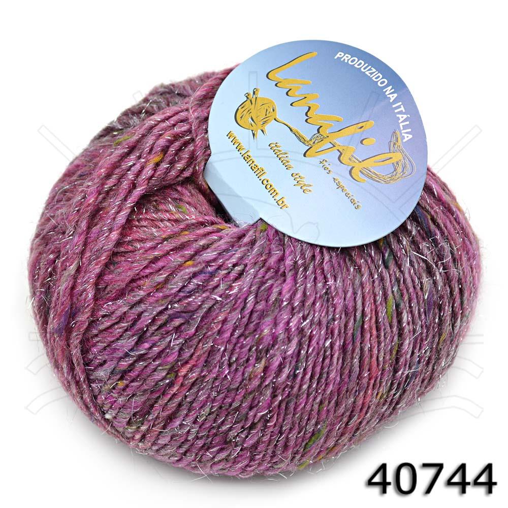 Fio Tricolore Tweed Lurex 50g - Bazar Horizonte 43f3ac7e1ce
