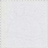 f4666ef22c5ac Tecido Estampado Para Patchwork - Composê Poá Branco com Preto Cor 1587 (0