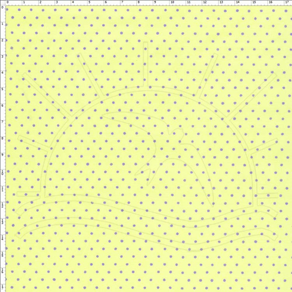 82be77434a Tecido Estampado para Patchwork - Poá Verde com Lilás Cor 38 (0,50x1,40)
