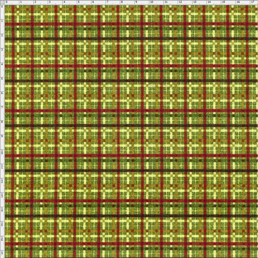 cb405dd291e2f Tecido Digital Natal Xadrez Verde - Fuxicos e Fricotes - Bazar Horizonte