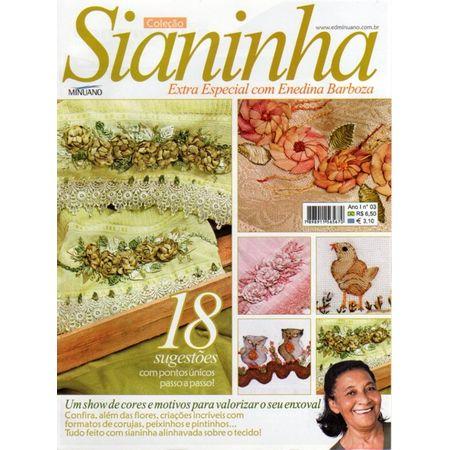 Revista Sianinha com Enedina Barbosa Ed. Minuano nº03 - Bazar Horizonte 0f521b2d6ca