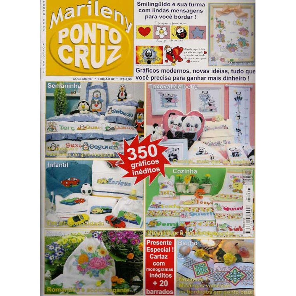 Revista Marileny Ponto Cruz Ed Rimary N 07 Bazar Horizonte ~ Ponto Cruz Cozinha Moderna