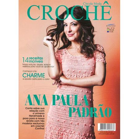 Revista Círculo Moda Crochê Ed. Minuano nº 03 - Bazar Horizonte e970498f895