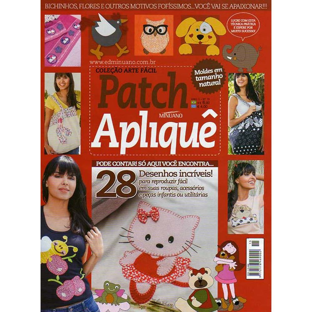 Revista Patch Apliquê Ed  Minuano nº15