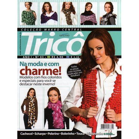 Revista Makro Central Tricô nº03 - Bazar Horizonte f31f6fb6b37