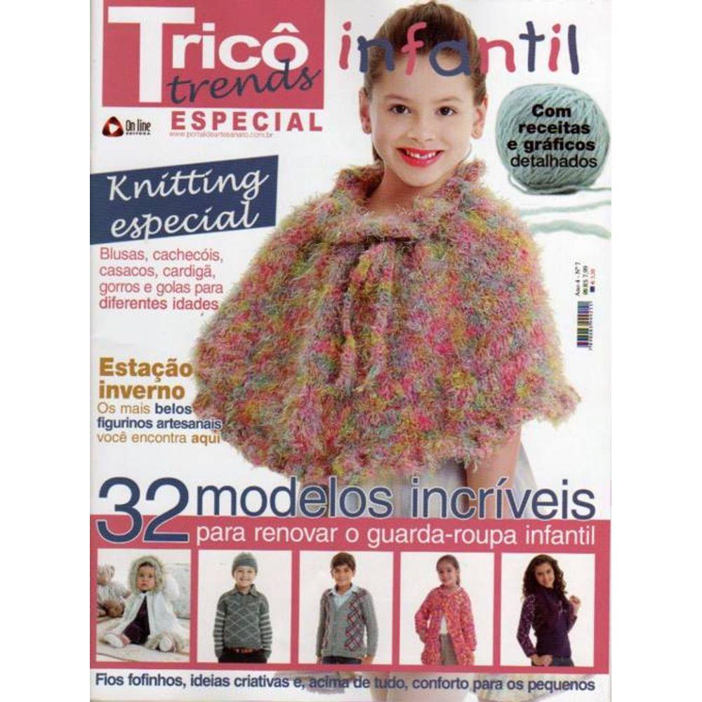 848cab73f8 Revista Tricô Especial Ed. Online nº07 - Bazar Horizonte