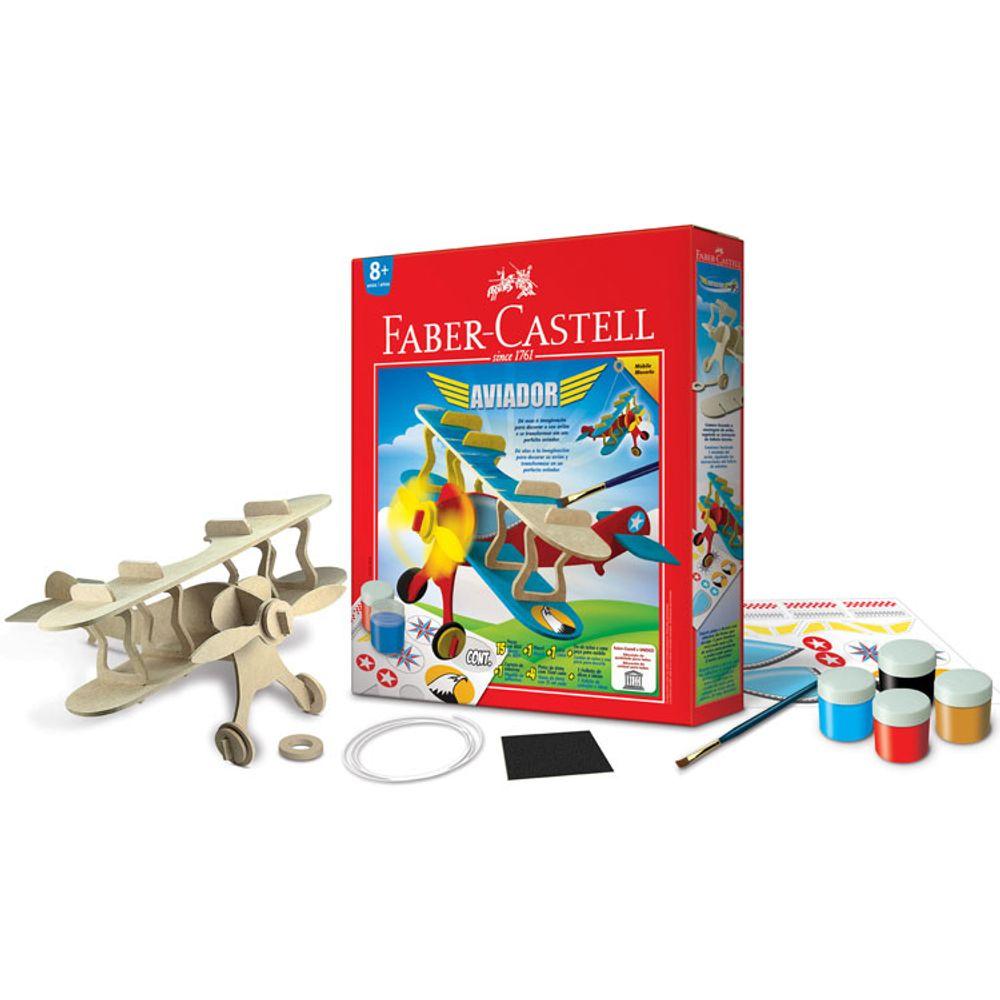 384874192927a Aviador Creativity for Kids Faber-Castell - Bazar Horizonte