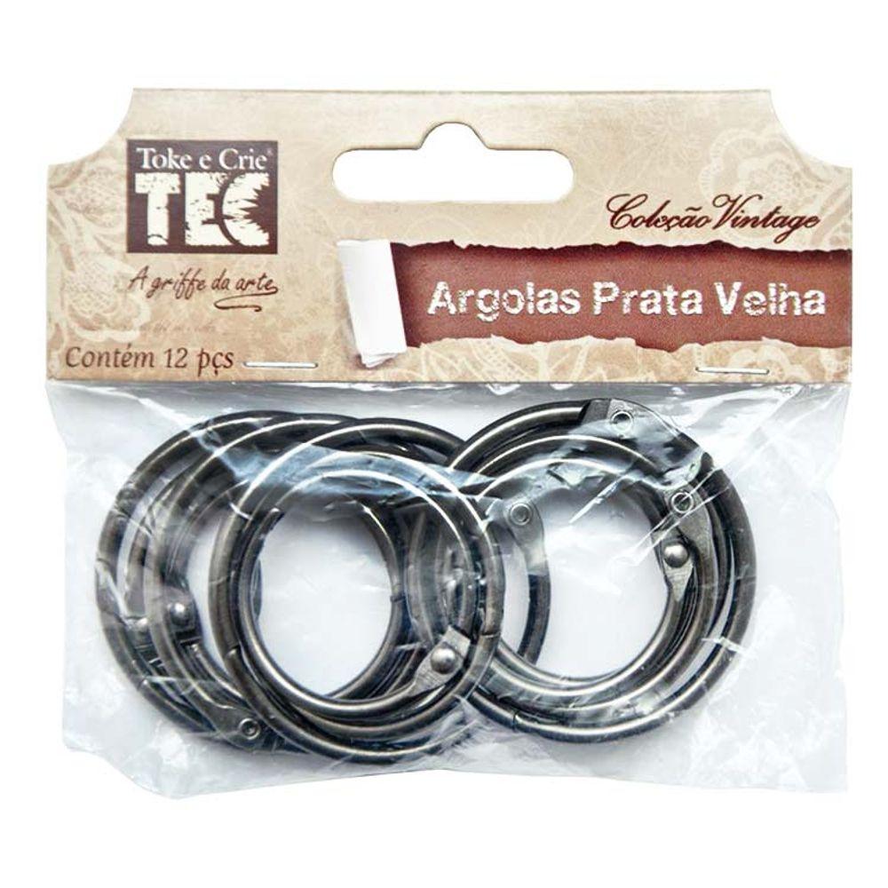 Argolas Prata Velha Coleção Vintage Toke e Crie - Bazar Horizonte 55362cb99b