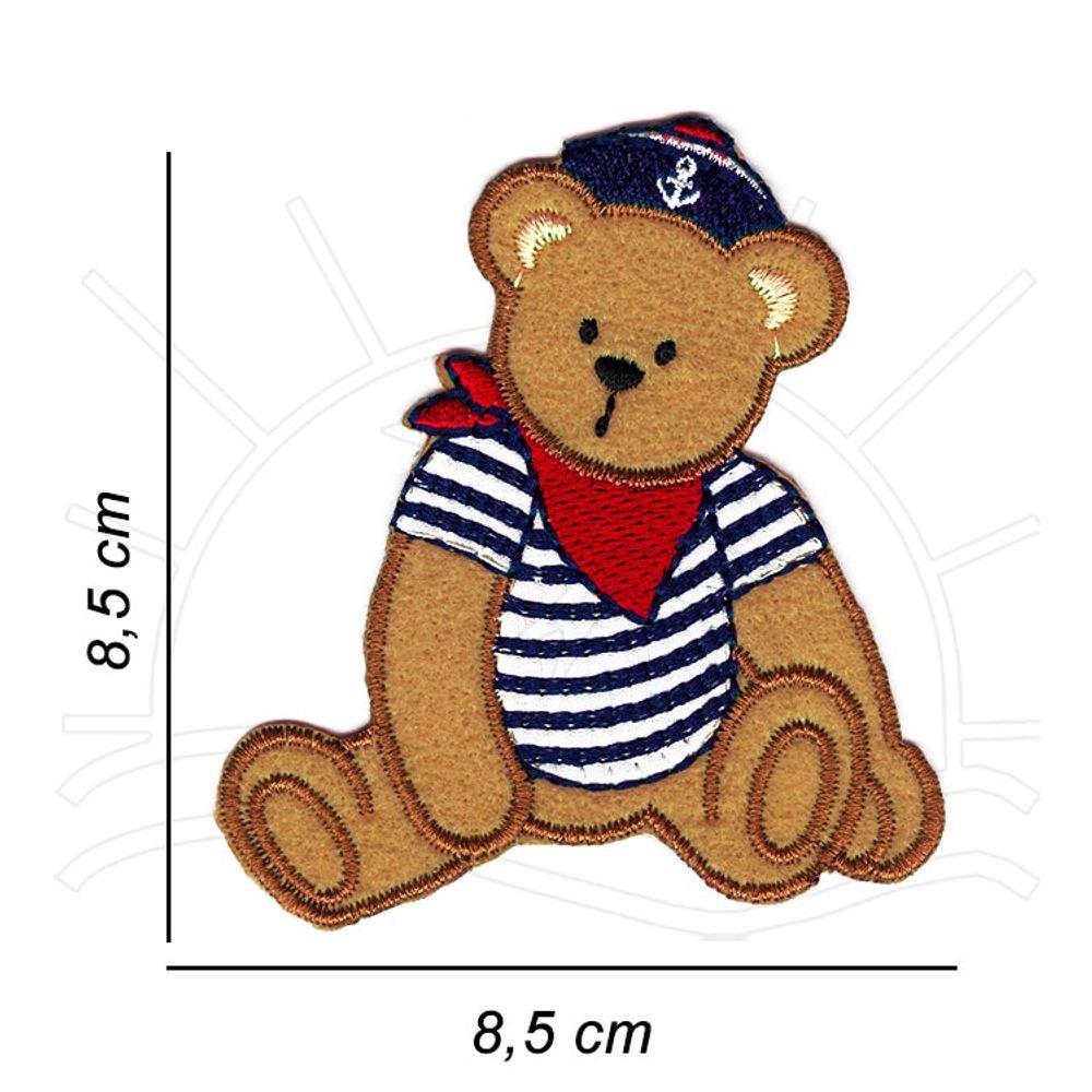 Molde de ursinho marinheiro - Como Fazer | 1000x1000