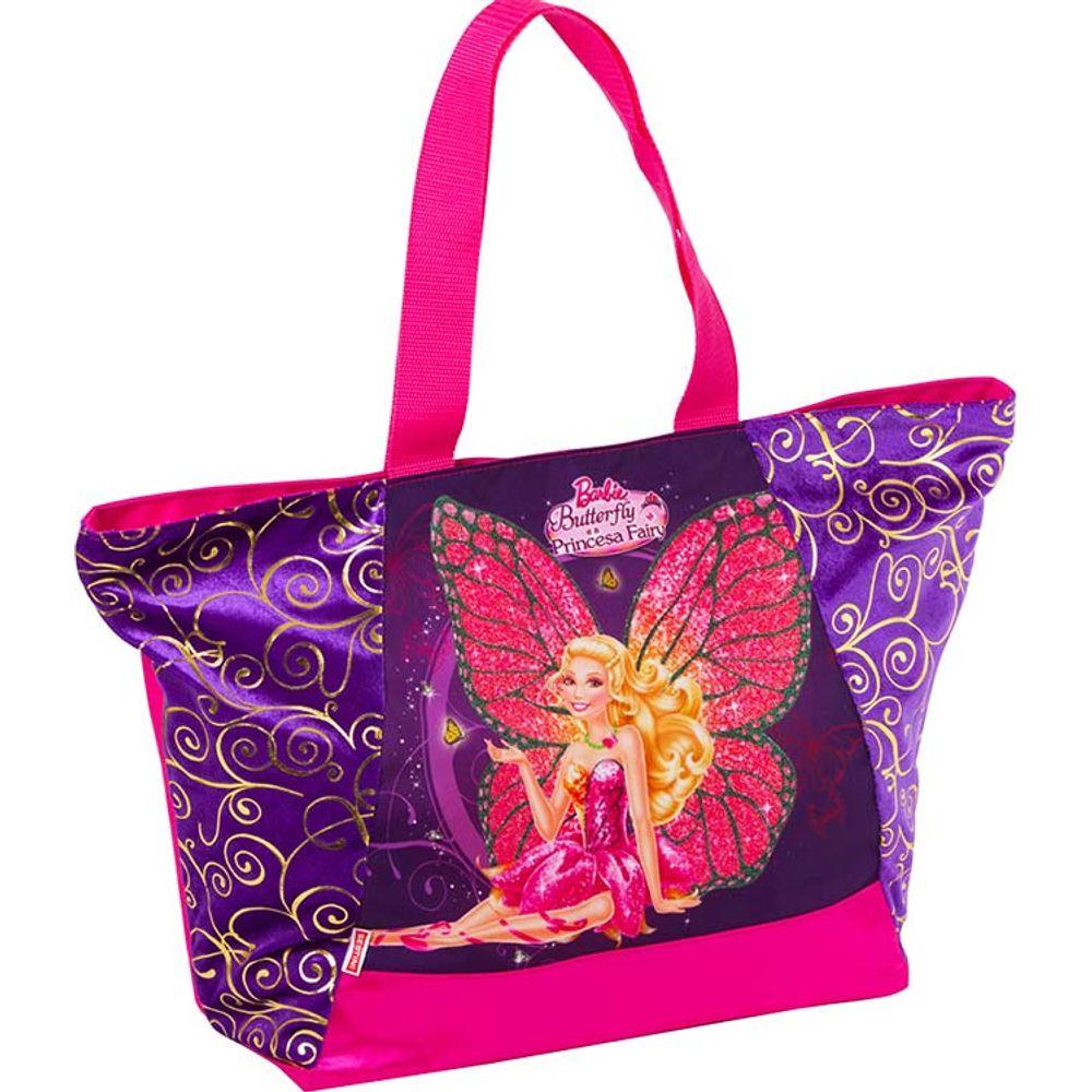 9b5dae461 Bolsa Barbie Butterfly e a Princesa Fairy Roxo - Bazar Horizonte