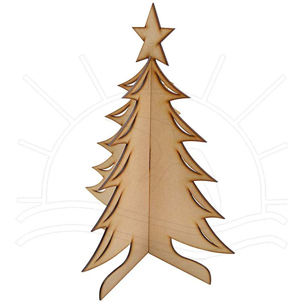 Mdf Natal árvore De Natal 36x36x47 Bazar Horizonte