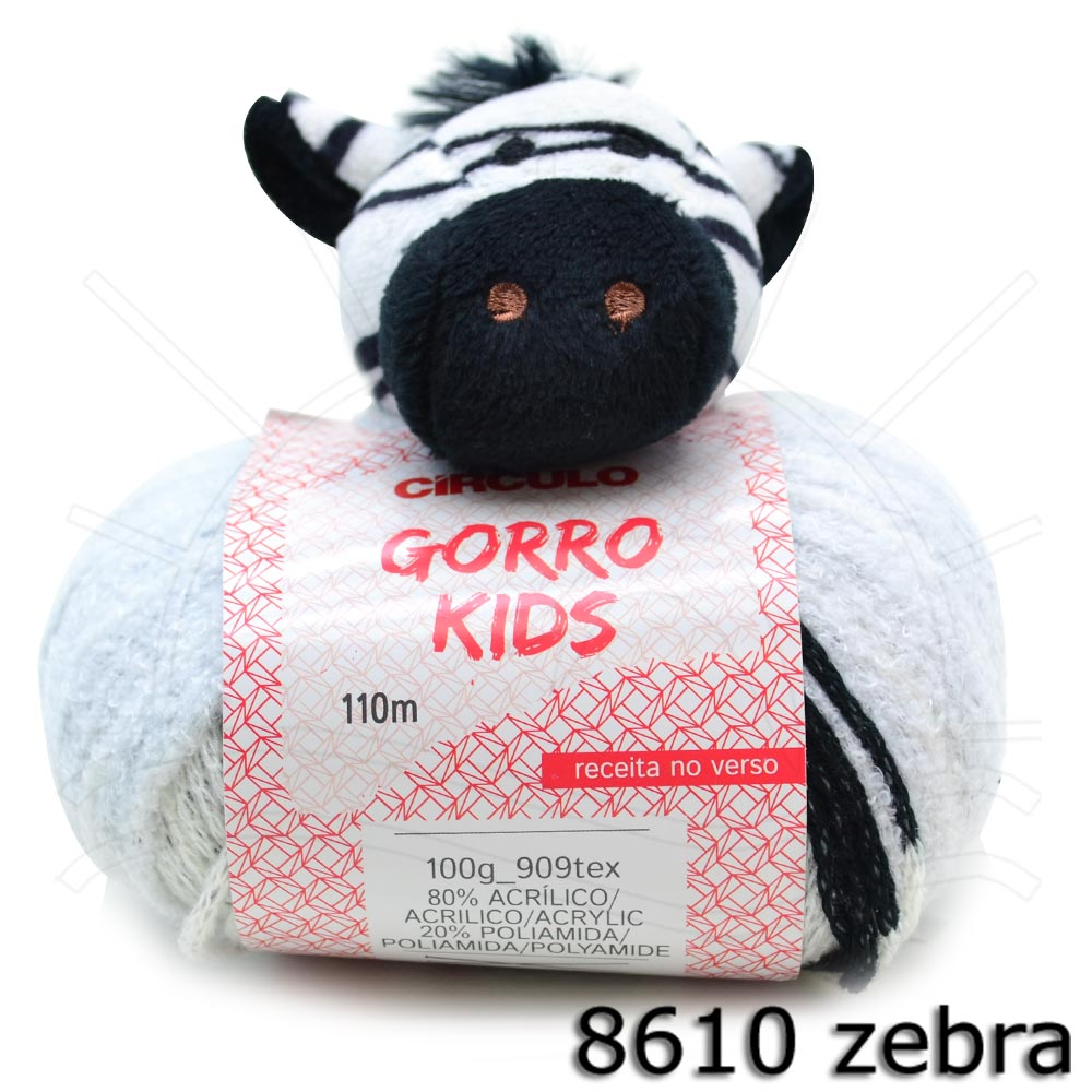 0412047b8086e Fio Gorro Kids 100g