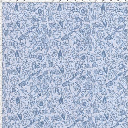 ef89bc5963977 Tecido Coleção Bali Floral Tom Tom Azul - Fuxicos e Fricotes - Bazar ...