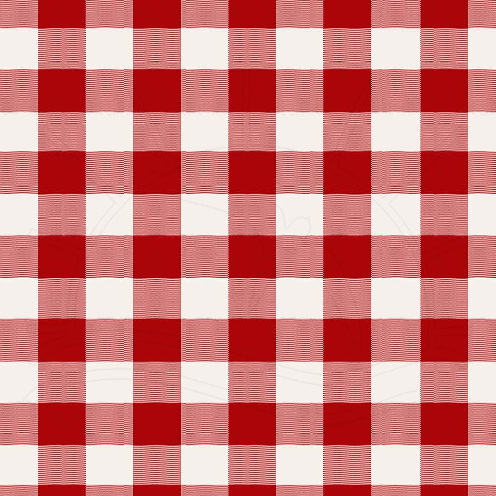 68eef5507 Tecido Estampado para Patchwork - Fio Tinto Xadrez Vichy 2,0cm Vermelho  (0,50x1,40)