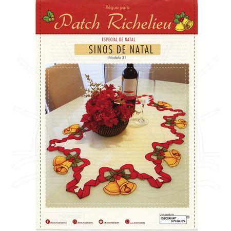 Regua Para Patch Richelieu Marcia Caires Modelo 31 Sinos De