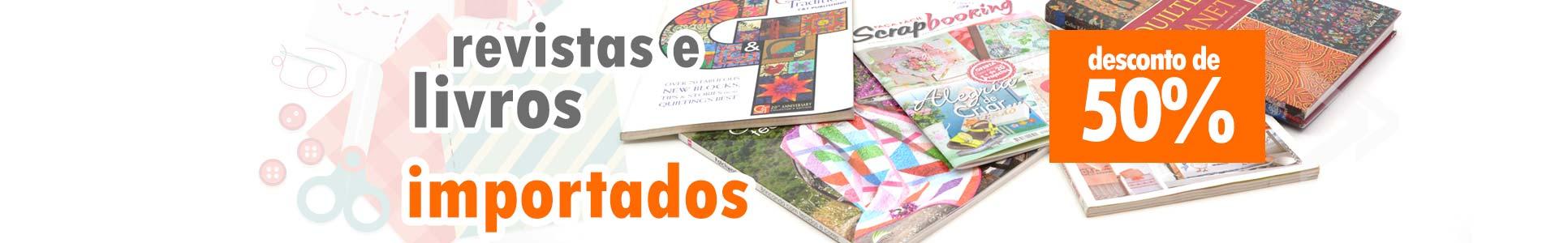 Revistas Livros Importados 50% OFF