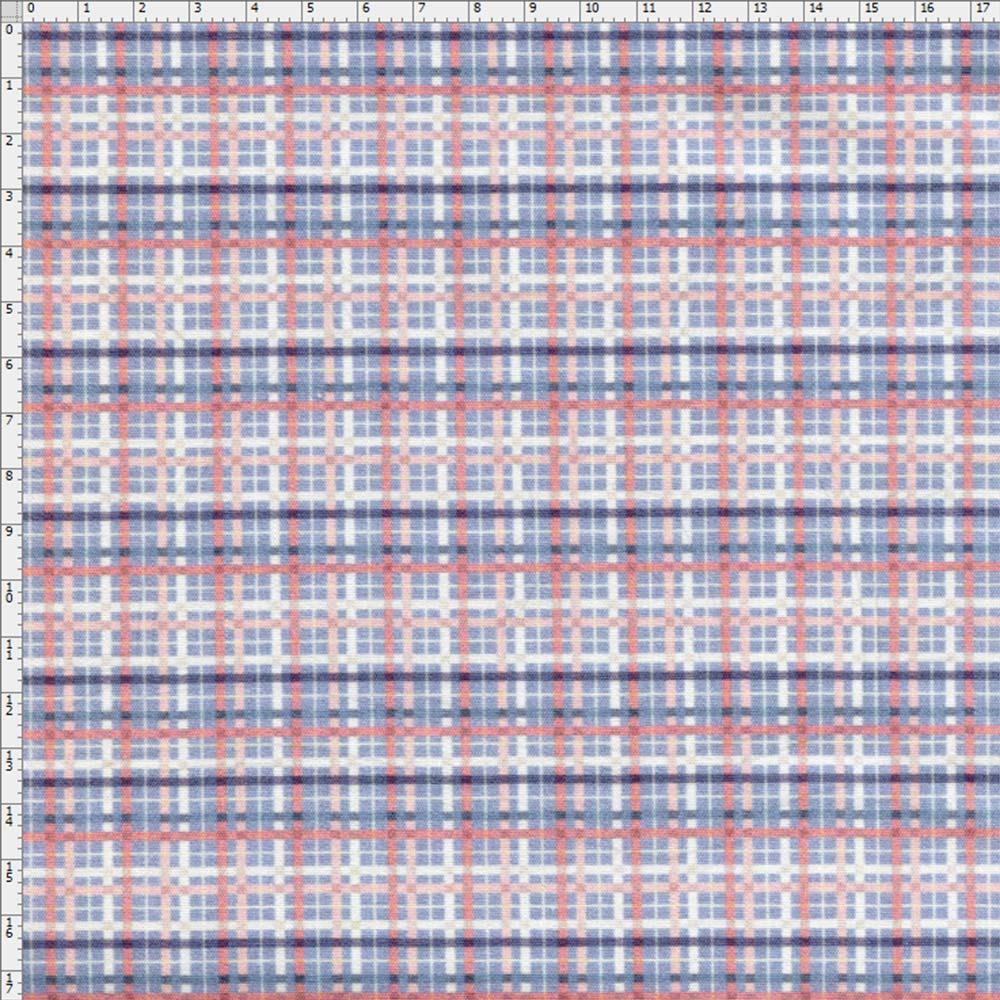 48b6865043030 Tecido Estampado para Patchwork - Digital Coleção Bicicletas Xadrez ...
