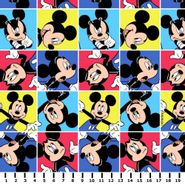 Tecido Mickey Mouse Multicor