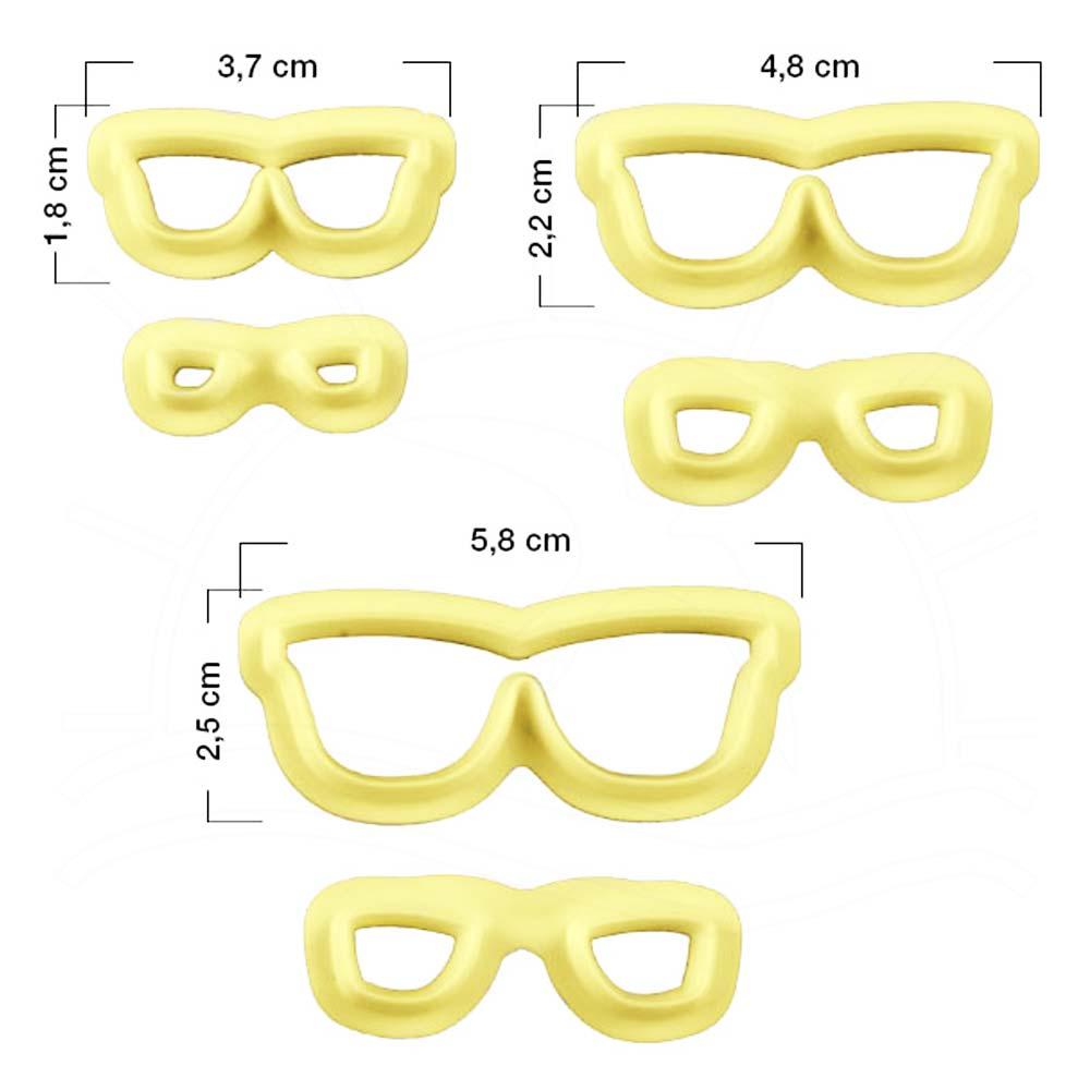 Cortador de Óculos - 3 Kits - Bazar Horizonte 42bbb2b801