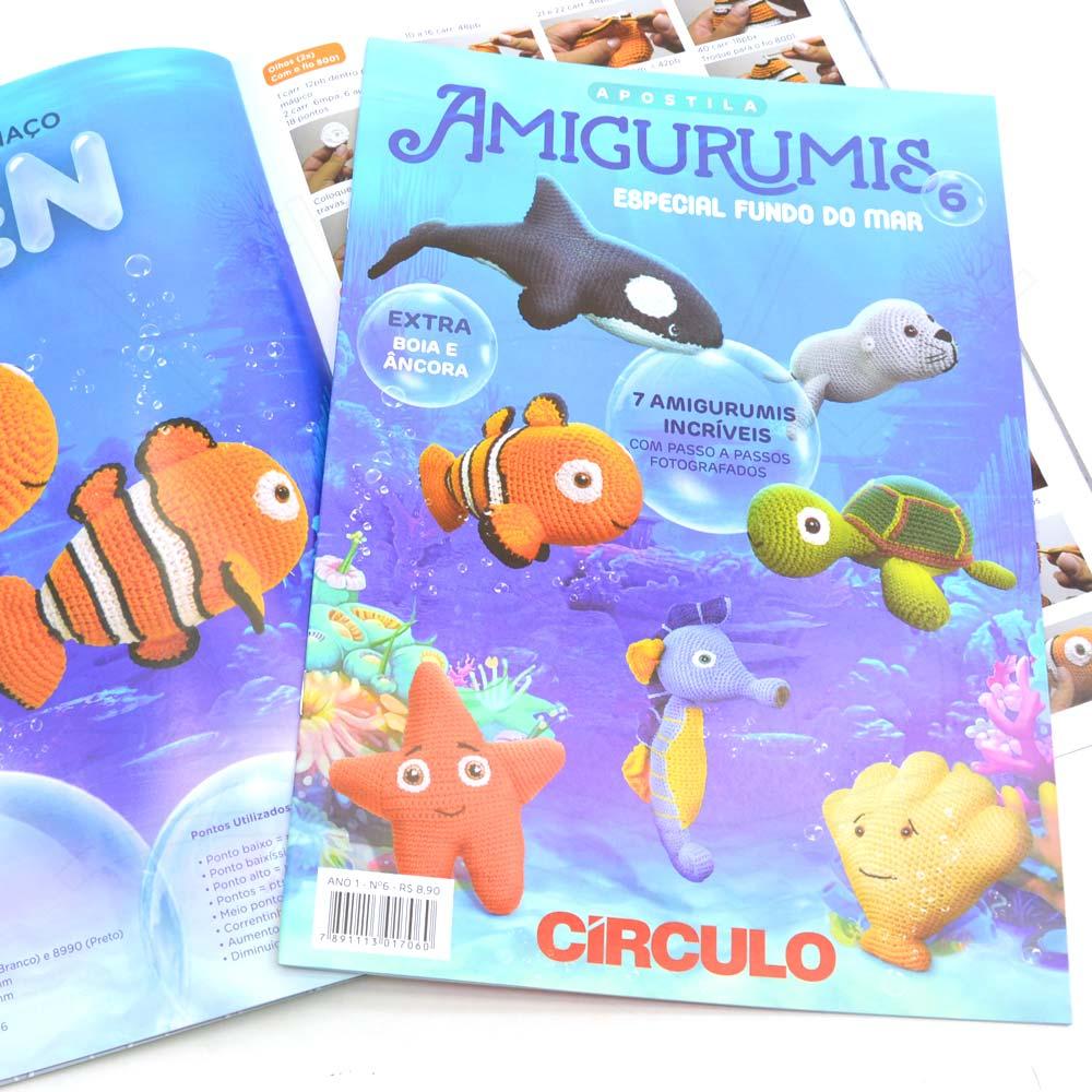 Kit Apostila Amigurumi - 3 Revistas Circulo Novas A Escolher - R ... | 1000x1000