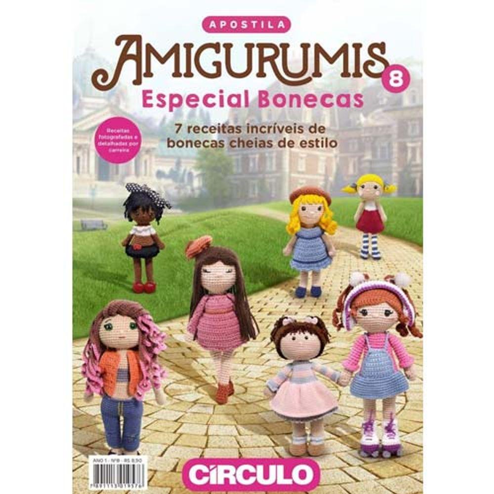 Boneca Dedé amigurumi no Elo7 | Crochetados por Angela Witt (B7D514) | 1000x1000