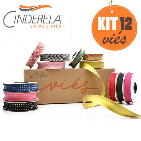 ee89e12b32 Kit de Viés Cinderela - 12 Unidades - Bazar Horizonte