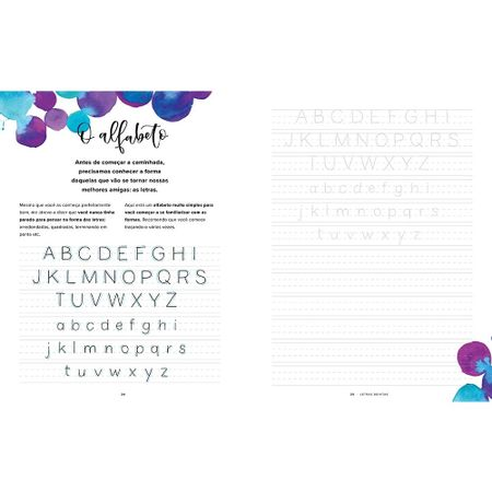 Livro Letras Bonitas Descubra A Arte De Desenhar Palavras Bazar