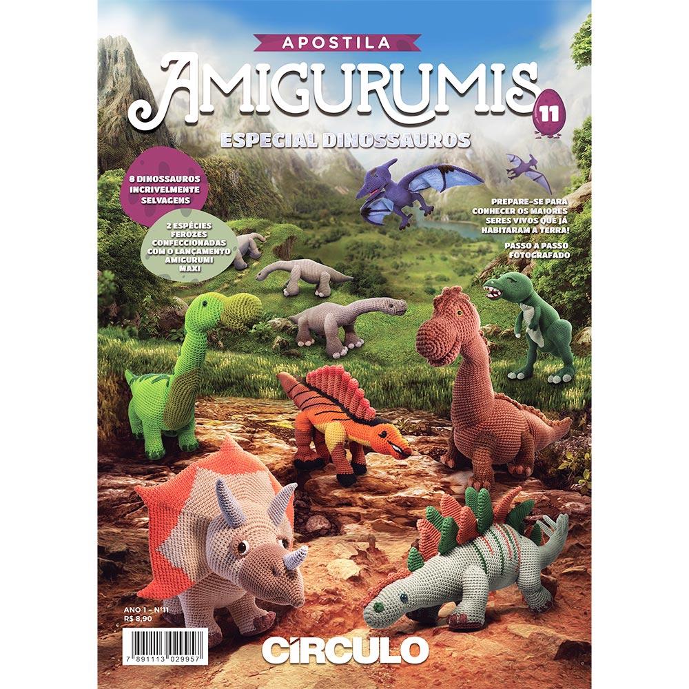 Amigurumi Dinossauro | 1000x1000