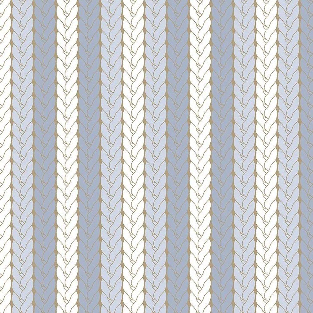 Tecido Estampado Para Patchwork Bichinhos Baby Trico Azul 0