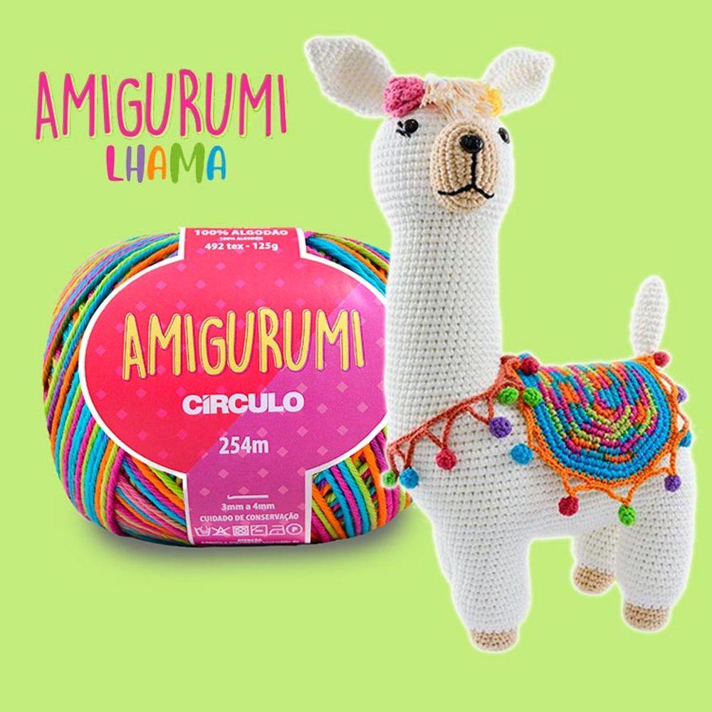 Kit Fofurice Amigurumi com Mochila - Círculo   Amigurumi ...   1000x1000