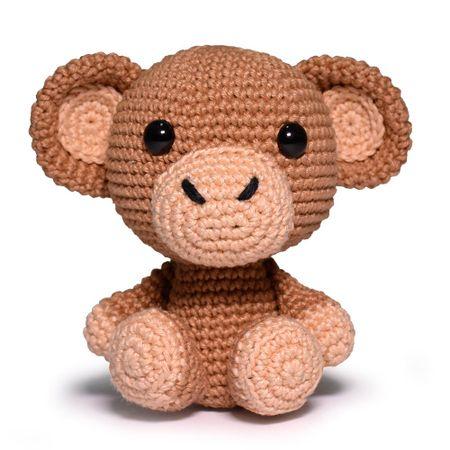 Kit Amigurumi Coleção Safari Baby Círculo - Urso - Bazar Horizonte | 450x450