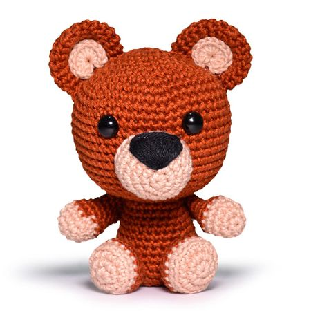 Maxi Amigurumi Teddy Brown - EuroRoma Spesso - Blog do Bazar Horizonte | 450x450