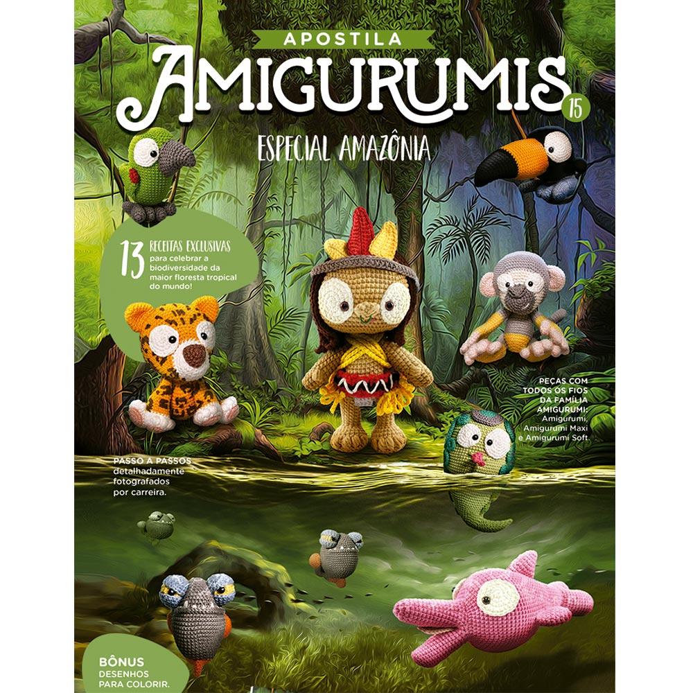 Revista Amigurumis nº 08 - Especial Bonecas - Bazar Horizonte | 1000x1000